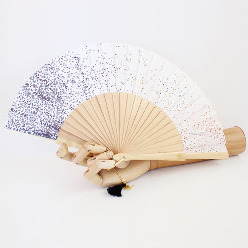 Mini hand fan Bohemian Jane