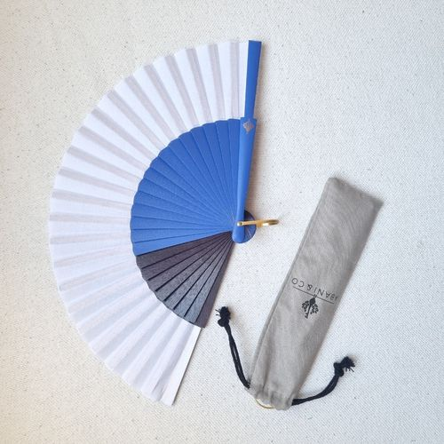Fan The Blue Men Majorelle - 19 cm